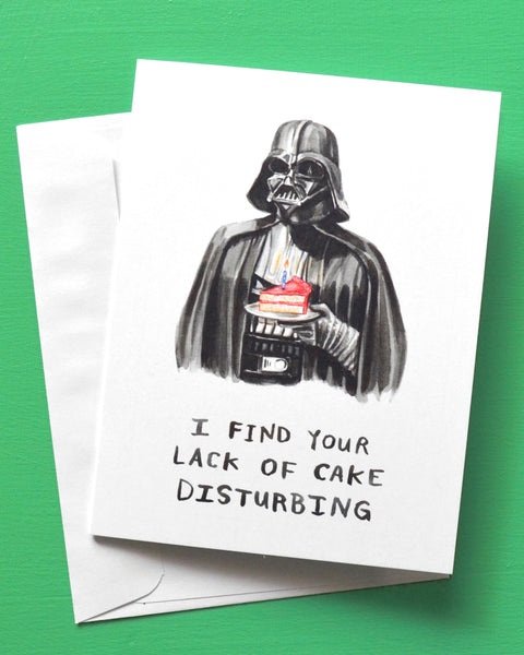 darth vader birthday card