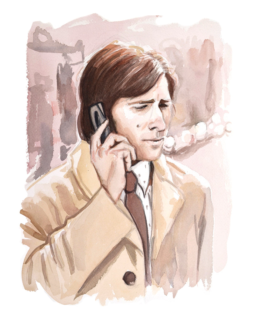 Calling... Johnathan Ames - Limited Edition Portrait Print