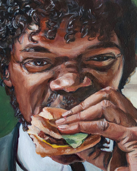 Samuel L Jackson Pulp Fiction Burger
