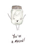 You're A-Mason - Mason Jar Pun Greeting Card
