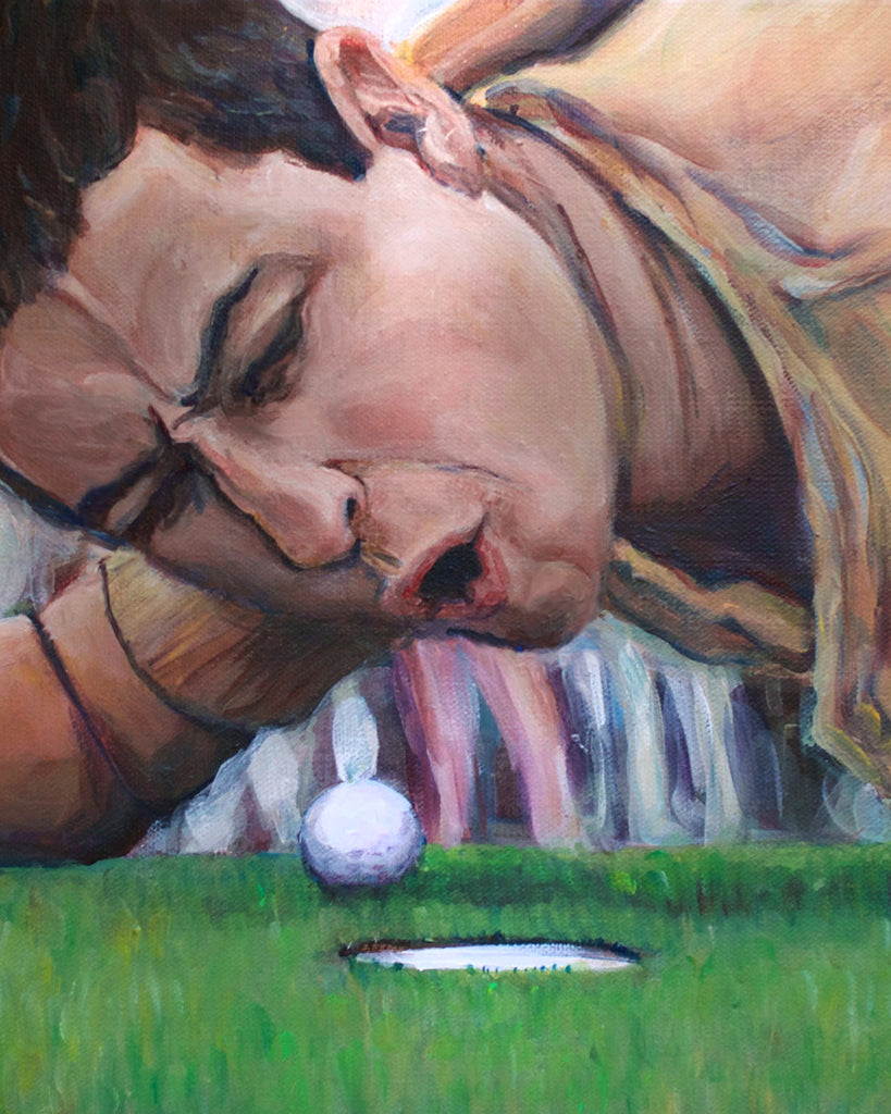Are You Too Good For Your Home!? - Happy Gilmore Painting Print