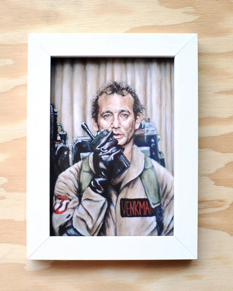 Bill Murray as Peter Venkman in Ghostbusters - Portrait Print
