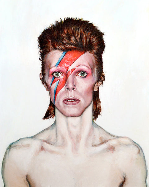 David Bowie - Portrait Print