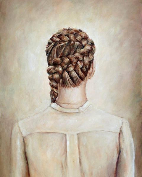 Dutch Braid - Fine Art Print