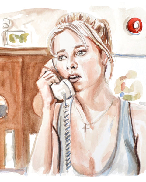 Calling... Buffy - Limited Edition Portrait Print