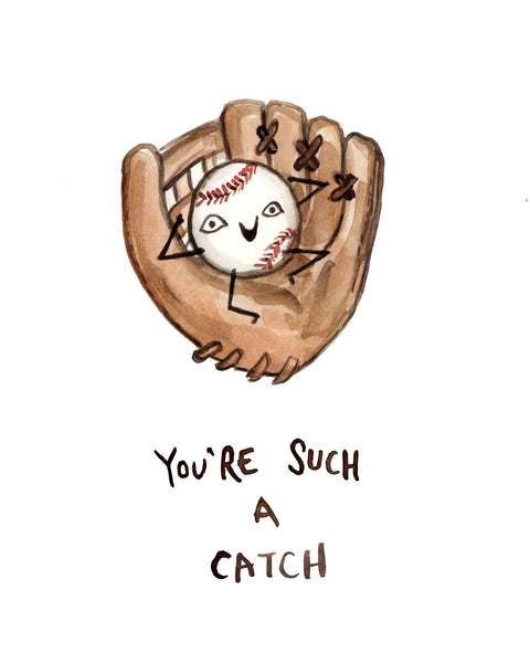 You're Such a Catch - Greeting Card