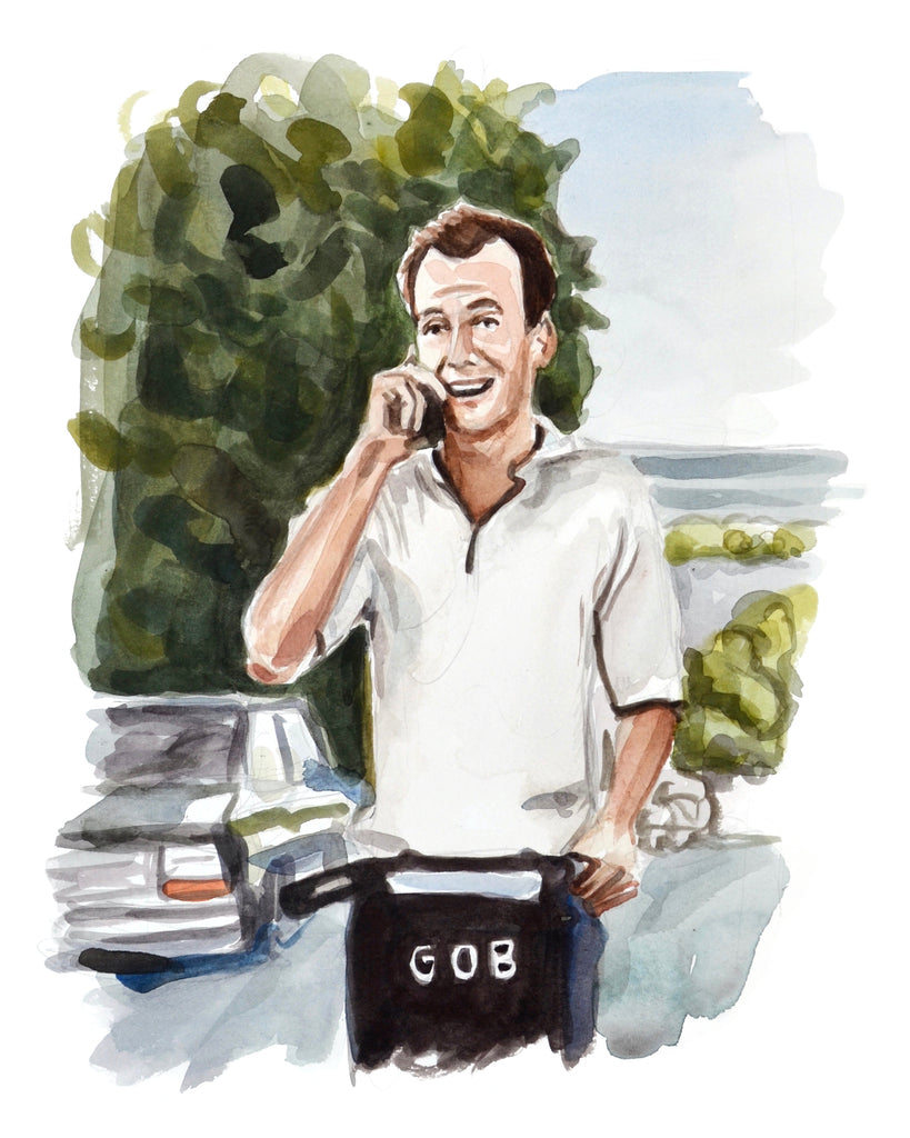 Calling... GOB - Limited Edition Portrait Print