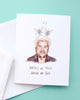 Angels We Have Heard on Guy - Food Network Holiday Greeting Card