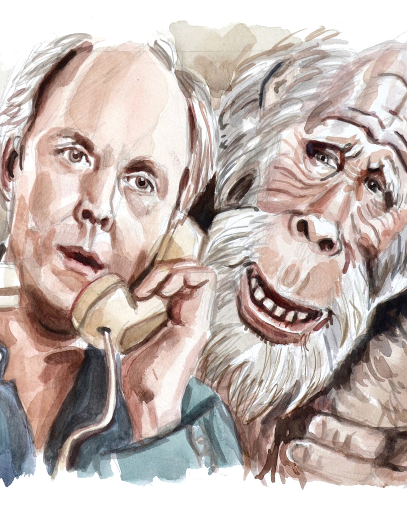 Calling... Harry and a Henderson - Limited Edition Portrait Print