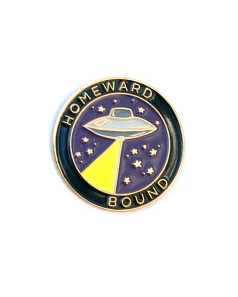 Homeward Bound UFO - Enamel Lapel Pin