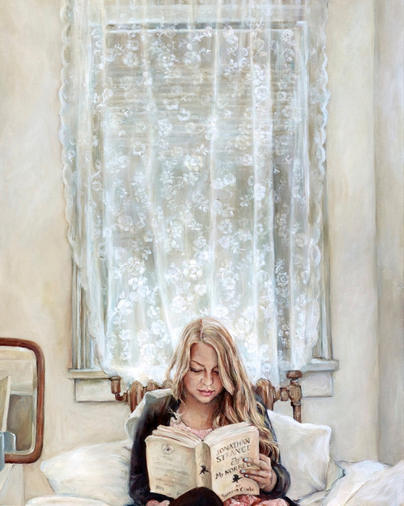 Morning Read - Fine Art Print