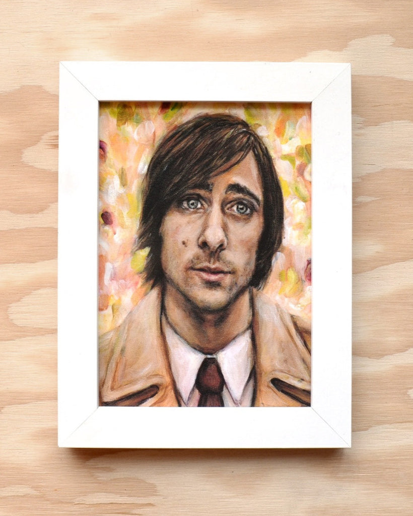 Jason Schwartzman in Bored to Death - Portrait Print
