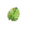 Tropical Leaf - Enamel Lapel Pin
