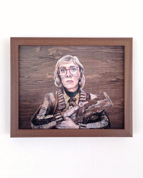 The Log Lady from Twin Peaks - Portrait Print
