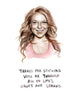 Highs And Lohans - Lindsay Lohan Greeting Card
