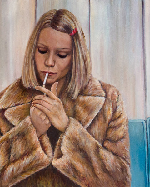 Margot Tenenbaum - Gwyneth Paltrow - Wes Anderson Portrait Print