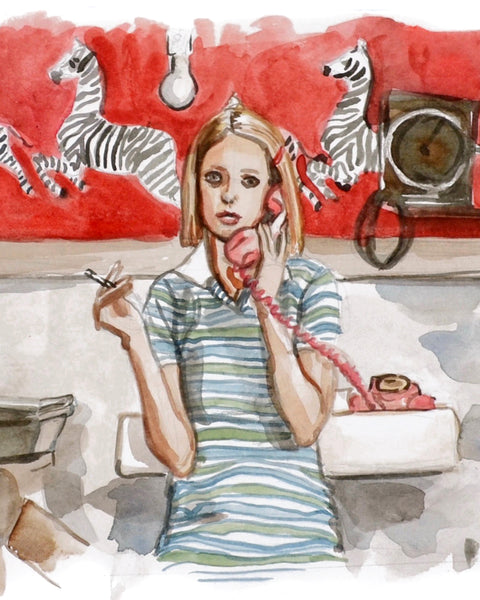 Calling... Margot Tenenbaum - Limited Edition Portrait Print