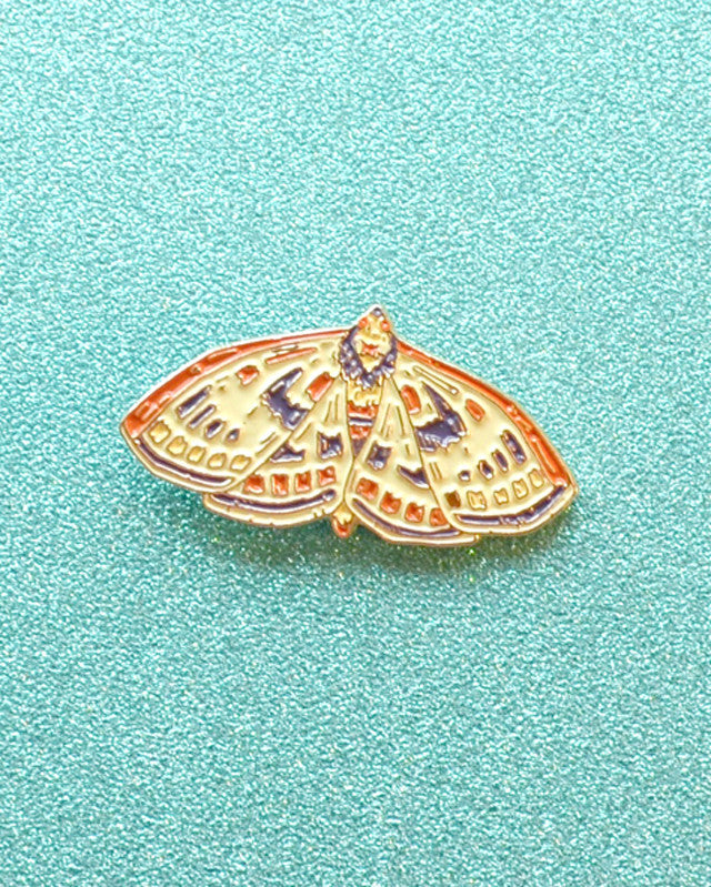 Moth - Enamel Lapel Pin