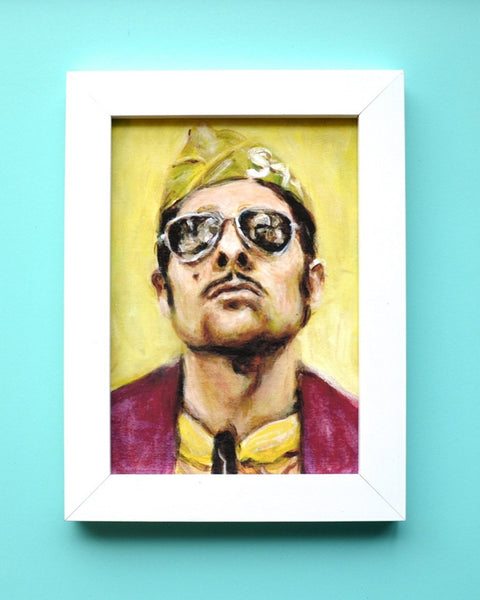 Jason Schwartzman as Cousin Ben - Moonrise Kingdom - Wes Anderson Portrait Print