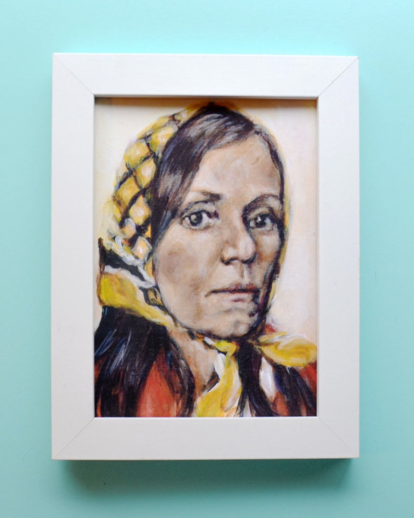 Frances McDormand as Laura Bishop - Moonrise Kingdom - Wes Anderson Portrait Print