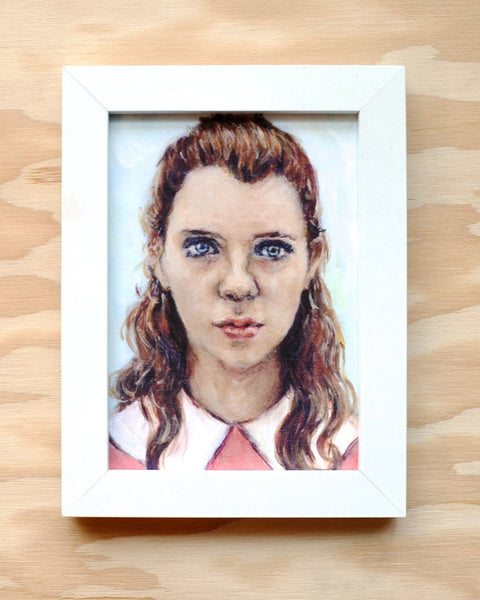 Suzy - Moonrise Kingdom - Wes Anderson Portrait Print