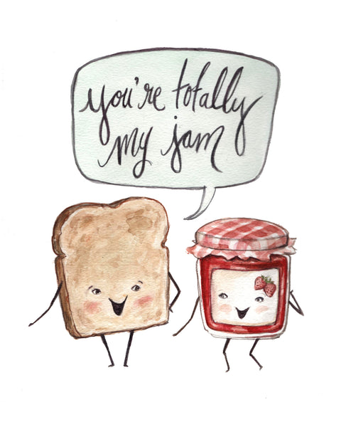 You're My Jam - Greeting Card
