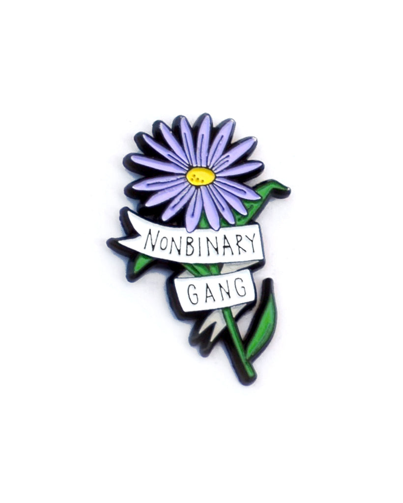 Nonbinary Gang - Enamel Lapel Pin