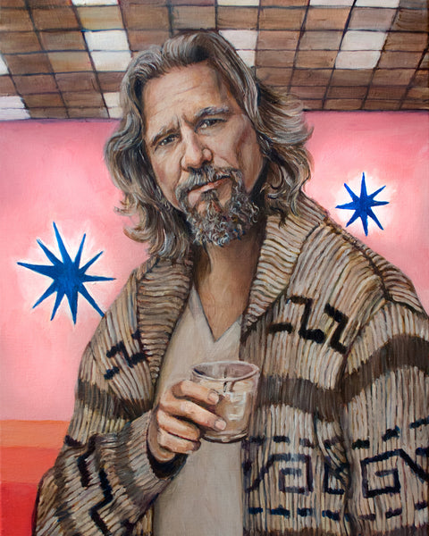 The Dude - Jeffrey Lebowski - Jeff Bridges Big Lebowski Print