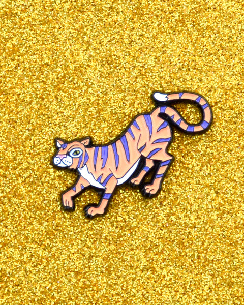 Tiger - Enamel Lapel Pin