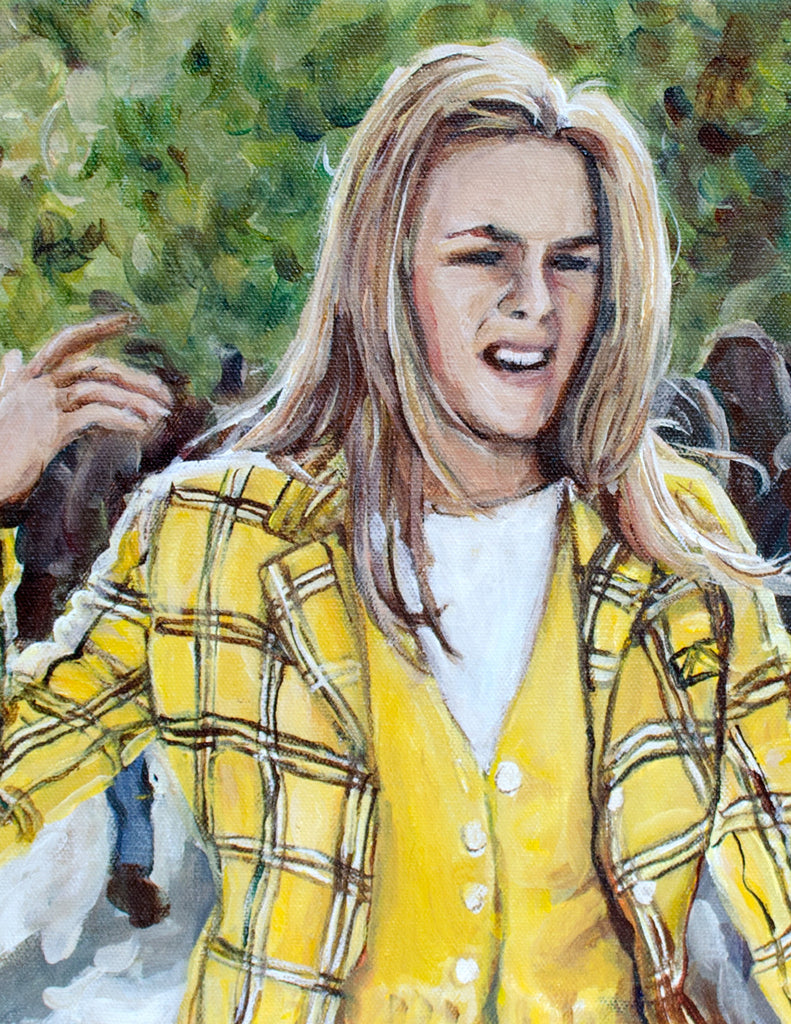Ugh, As If - Clueless Painting Print