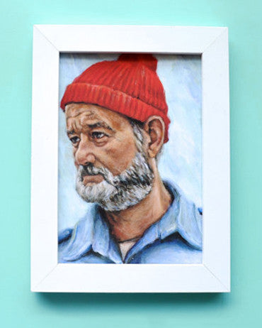 Bill Murray as Steve Zissou - Wes Anderson Print