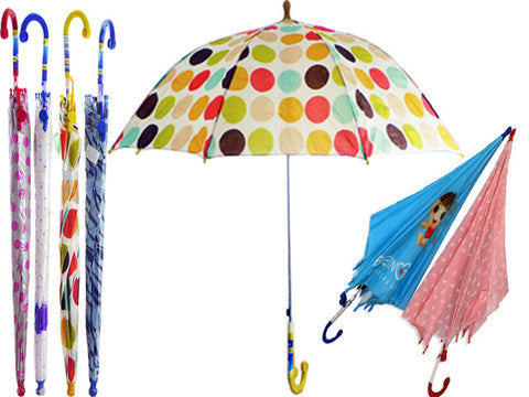 48 Kids Umbrellas in Mixed Designs, Just $2.08 each - Jackpotlots.com