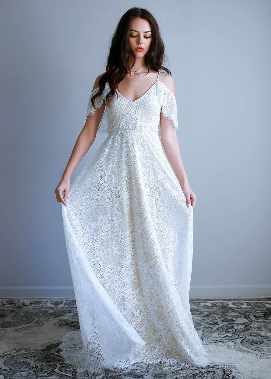Wear Your Love | Paris Dress | Bohemian Wedding Dress