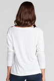Amanda Cutout Detail Top