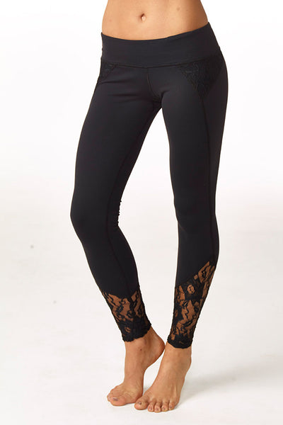 Demi lace legging