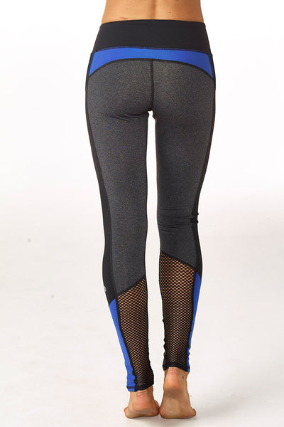 gwen colorblock legging royal blue