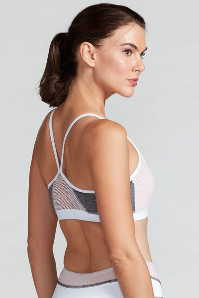 Halle Bra - Blush/H. Grey