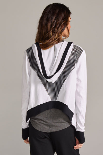 Jojo Crop Hooded Jacket