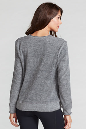 Lindsay Terry Cut Out Sweatshirt