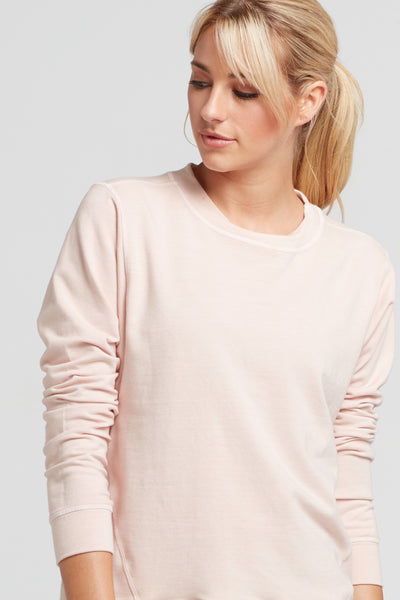 Pia Sweatshirt- Blush