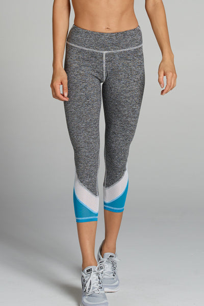 Tatiana Capri - Heather Grey/Blue