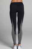 Tatiana Legging - Black/Heather Grey