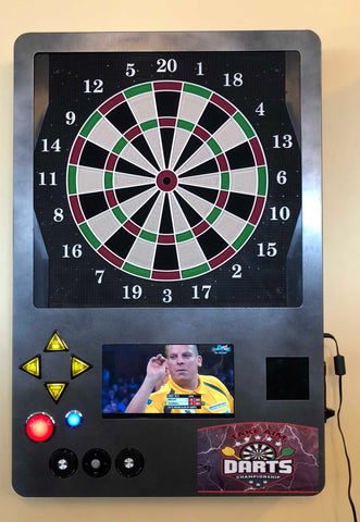 Wall Mount Coin Operated Dart Machine