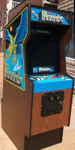 PHOENIX ARCADE GAME WITH LOTS OF NEW PARTS- EXTRA SHARP