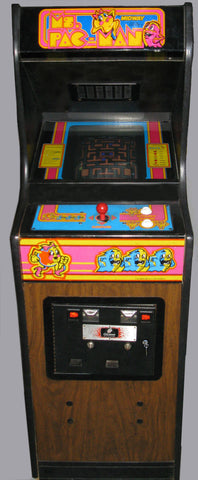 MS PACMAN CABARET ARCADE-REFURBISHED