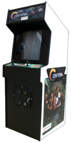 CONTRA ARCADE GAME WITH LOTS OF NEW PARTS- EXTRA SHARP