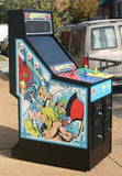 GAUNTLET ARCADE VIDEO GAME, LOTS OF NEW PARTS, LOOKS EXTRA SHARP