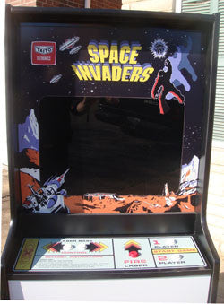 SPACE INVADERS ARCADE GAME WITH LOTS OF NEW PARTA ...