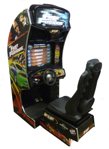 FAST AND FURIOUS DRIVING ARCADE -REFURBISHED