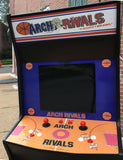 ARCH RIVALS ARCADE WITH LOTS OF NEW PARTS-SHARP